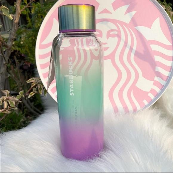 Starbucks Summer 2021 Ombre Glass Bottle